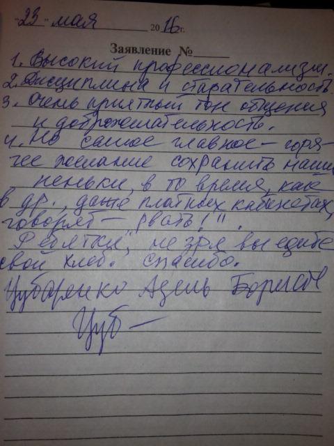 Чубаренко Адель Борисовна